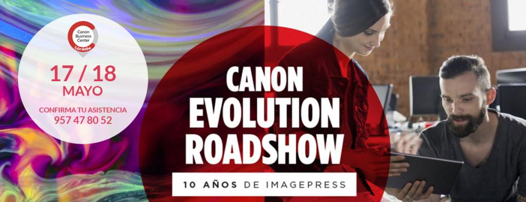 CANON Evolution Roadshow 1200x460